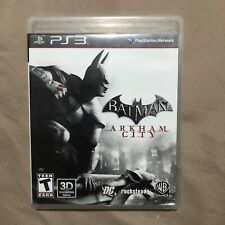 Playstation 3 PS3 Batman Arkham City Complete In Box