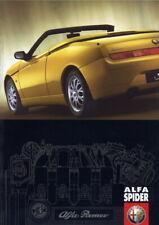 Catalogue prospekt brochure Alfa Romeo Spider 2001 FR