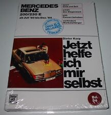 Reparaturanleitung Mercedes 200 / 230 E W 123 ab Juli 1980 - Dezember 1980 NEU!