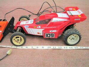 VINTAGE 1980s KYOSHO RAIDER RACING TEAM 1/10 SCALE RADIO CONTROL OFF-ROAD BUGGY