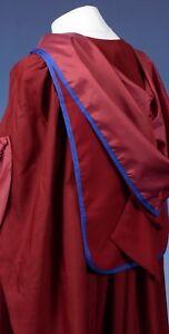 London PhD Style Graduation Gown, Hood and Tudor Bonnet  Set