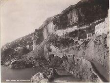 Frana 22 dicembre 1899 Amalfi Grand hôtel dei Cappuccini Italie Italia Albumine