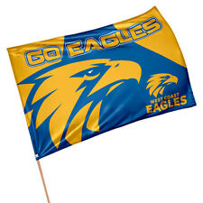 West Coast Eagles AFL GAME DAY Pole Flag Banner Fathers Day Man Cave Gift