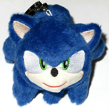 2020 SONIC THE HEDGEHOG MOVIE PLUSH KEYCHAIN CINEPOLIS MEXICO TOY HEAD KEYRING