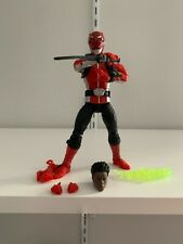 Hasbro Power Rangers Lightning Collection Beast Morphers Red Ranger Devon
