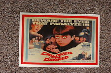 Children of the Damned #2 Lobby Card Movie Poster