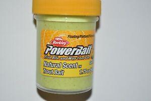 berkley powerbait floating original scent trout bait 1.75oz garlic