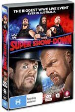 BRAND NEW WWE Super Show-Down 2018 (DVD, 2-Disc Set) *PREORDER R4 Melbourne