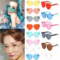 clair de lunettes lunettes de soleil cat eye coeur des lunettes de soleil