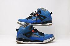 Air Jordan Spizike - Knicks - Blue Ribbon Orange - Spike Size 13