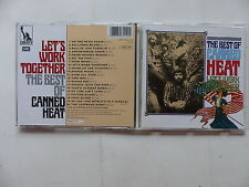 CD Album CANNED HEAT The best of : Let's work together CDP 7 93114 2