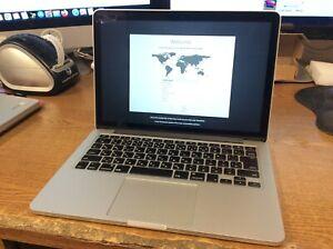 "MacBook Pro Core i5 2.7 GHz 8GB 128GB 13"" MF839LL/A Japanese/US.日本"