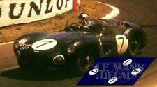 Decals Aston Martin DBR1 Le Mans 1960 1:32 1:24 1:43 1:18 slot calcas