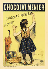 #2018 Chocolat Menier Firmin Boisset Vintage Ad Style Art Print 16x20