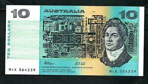 Australia (P45g) 10 Dollars 1991 UNC