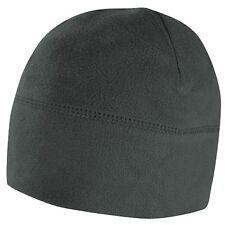 Condor Outdoor Graphite Gray Cold Weather Micro Fleece Beanie Winter Hat Watch