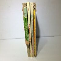 Richard Scarry Lot of 4 Vintage Hardcovers Golden Books, Best Word Book Ever