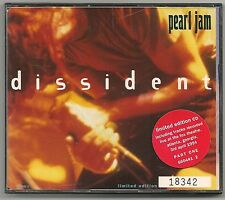 PEARL JAM DISSIDENT + LIVE TRACKS LTD EDITION NUMBERED PICTURE CD SINGLE 1994