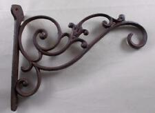 Decorative Cast Iron Plant Hook Bracket - Birdfeeder Hanger