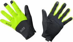 GORE C5 GORE-TEX INFINIUM Full Finger Gloves | Black/Neon Yellow | L