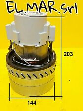 Motore 1400 W BY-PASS Tristadio Aspirapolvere Aspiraliquidi 230 V Monofase