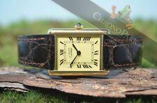 Cartier Tank-Armbanduhren im Luxus-Stil