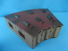 Marklin 7028 Roundhouse for Turntable Grey-Red TIN PLATE 1975