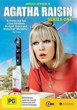 AGATHA RAISIN SEASON 1 DVD, NEW & SEALED, REGION 4, FREE POST.
