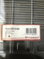 Transcend TS2GKR72V6Z 16GB 2Rx4 DDR3 1600 REG- DIMM Server Memory New Open Box