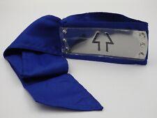 Bandeau cosplay NARUTO Shippuden Sigle TAKI Neuf plaque métal bande bleu *