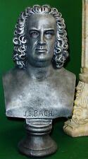 Johann Sebastian Bach Bust Music Sculpture Art Statue