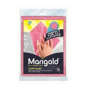 Marigold Oops Away Lightweight Cloth 6pk - Conveniently wipe up spills and dirt