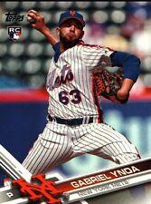2017 Topps Baseball Card #79 Gabriel Ynoa (18152)