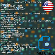 Fast iPhone IMEI Check Network & Carrier Sim-Lock & Find My iPhone