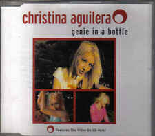 Christina Aquilera-Genie In A bottle cd maxi single Incl video cd rom