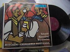 2 LP MASCAGNI CAVALLERIA RUSTICANA RCA LSC 6059 + BOOKLET EX+/EX++ TEBALDI EREDE
