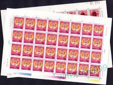 China 1992 Zodiac Animals Lunar Year of the Monkey 64v on Sheetlets Mint NH