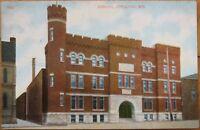 1910 Postcard - The Armory - Appleton, Wisconsin Wis WI