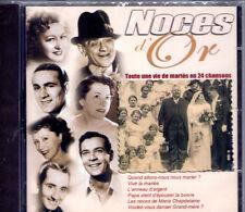 CD NOCES D'OR 24T BOURVIL/CARTON/LUMIERE/HELIAN/DORAT/MERKES/OUVRARD NEUF SCELLE