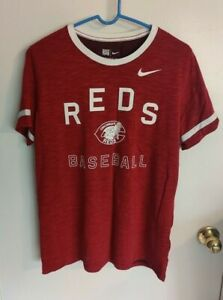 Nike Cincinnati Reds Men's Red Cooperstown Collection Dri-Fit Tee XL