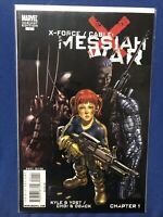 X-Force/Cable #1 Variant (Marvel 2009) NEAR MINT 9.4. MESSIAH WAR