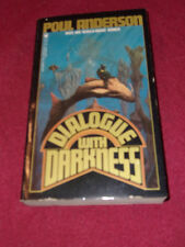 Dialogue With Darkness by Poul Anderson (1985, Pb) SIGNED to Robert Adams