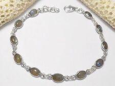 Natural Labradorite Beaded Fine Bracelets