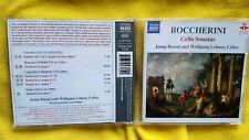 BOCCHERINI - CELLO SONATAS. BASSAL & LEHNER. CD NAXOS