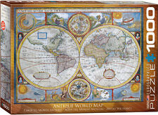 Eurographics Jigsaw - Antique World Map (1000 pieces)