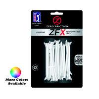 "Zero Friction Xtreme ZFX 4-Prong Performance Golf Tees 2-3/4"" 40 Pack"