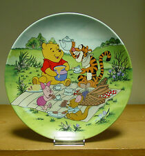Bradford Exchange Plate - Pooh's Picnic - Fun in 100 Acre Woods Collection