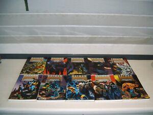 Batman Comic Sammlung Auflösung Knightfall 1 - 10 Sturz des dunklen Ritters