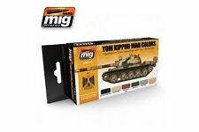 AMMO OF MIG A.MIG-7113 Acrylic Paint Set (6 jars) Yom Kippur War Colors 17ml
