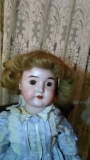 "Antique 25"" Heinrich & Simon Handwerck Bisque Head Composition Germany Doll Hh5"